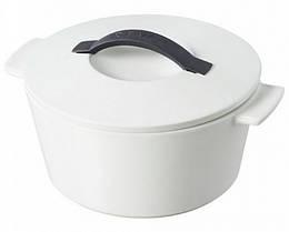 Кокотница круглая Revolution, белая крышка, 1,5 л, диам. 19 см Revol 642585