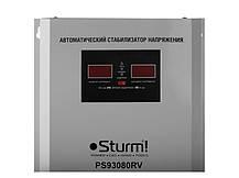 Стабилизатор напряжения релейный Sturm 8000 ВA настен (PS93080RV), фото 3