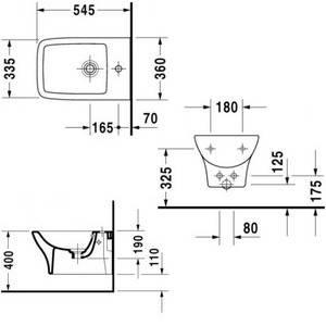 Биде подвесное DURAVIT PURAVIDA 36*54,5 см (2247150000), фото 2
