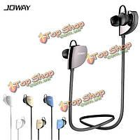 Joway H07 спорт стерео плоским проводной контроль Беспроводная Bluetooth  гарнитура для наушников 4.1