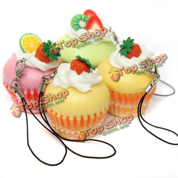 Мило жесткие мороженое фрукты чашки торт сотовый телефон прелести кнопка моделирования пищевой цепи ремень - ➊TopShop ➠ Товары из Китая с бесплатной доставкой в Украину! в Киеве