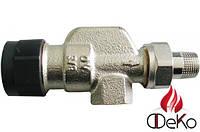 Термостатический вентиль Oventrop серии A осевой Ду15