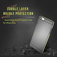 ROCK охранник Series случай двойной слой сильная защита мягкая TPU TPE защитная крышка для iPhone 4.7-дюймов