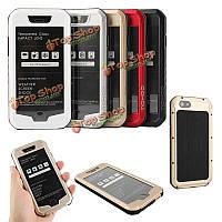 Mohoo для iPhone 6 6s 4.7-дюймов водонепроницаемый пыленепроницаемый ударопрочный металлический корпус кожа случае защитную оболочку