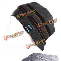 Bluetooth  стерео наушники Music мягкая теплая шапочка с перчатками