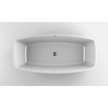 Ванна отдельностоящая 170х80 см,слив с системой Click-Clack, комплект ножек JACUZZI ESPRIT 9443815А, фото 2