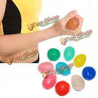 Упражнение для рук сила сжатия руки мяч фитнес-мяч