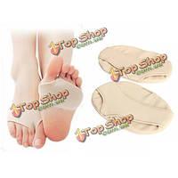 1 пара подушек носочной половина подошвы протектора рельефный коврик боль силикона ухода гель для ног больших