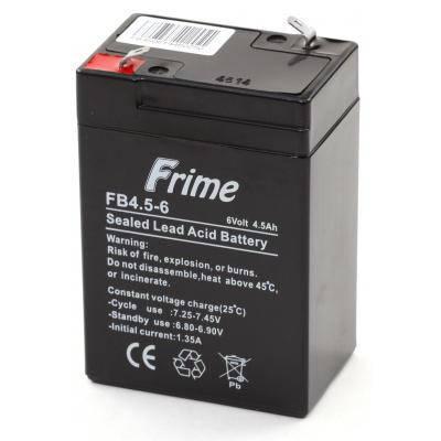 Батарея к ИБП Frime 6В 4.5 Ач (FB4.5-6), фото 2