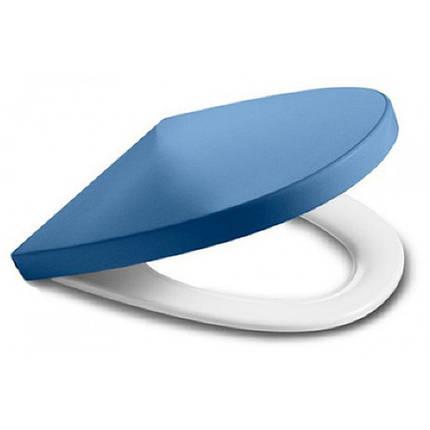 Сиденье для унитаза (slow-closing) синий ROCA KHROMA (801652F4T), фото 2