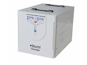 Стабилизатор напряжения, сервопривод Sturm 10000 ВA  (PS93100SM)