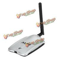 Роскошный альфа awuso36h 10dBi 2.4GHz USB2.0 Wireless WiFi сетевой адаптер
