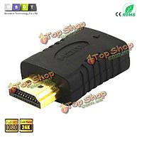 Конвенция 3d 1080p HDMI мужчина к мини-HDMI Женский конвертер адаптер для ЖК-DVD ТВЧ XBOX ps3