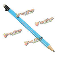 0.7мм черный провод автоматический механический карандаш с erasertip для офиса школы