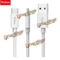 YooBao 1м 3а USB A для С-типа зарядки дата кабель для мобильного телефона