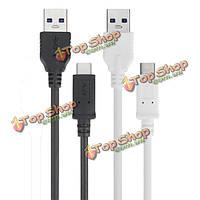 1м 3a обратимым USB3.1 type-с  чтобы USB3.0 мужчинами кабель для зарядки для Nokia PRO Пусть V n1 Tablet
