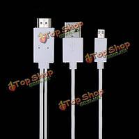 MHL Micro-USB к HDMI HDTV кабель для Samsung Galaxy S5 i9600