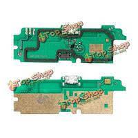 USB зарядное устройство порт разъем док-станции и микрофон гибкий кабель для Lenovo A850