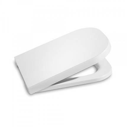 Сиденье твердое slow-closing для компакта ROCA GAP Clean Rim (801732004), фото 2
