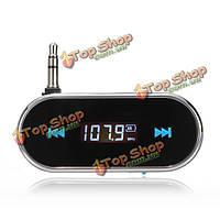 Беспроводной громкой связи 3.5 ЖК-дисплей FM-передатчик для iPhone Ipod