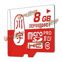 8Гб Class 10 TF карта памяти Micro-SD карты для iPhone Samsung планшетный динамик камеры Автомобильный видеорегистратор GPS