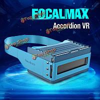 Focalmax складных аккордеона VR 3D фильм видеоигры очки для iPhone 4.От 5 до 6-дюймов смартфон