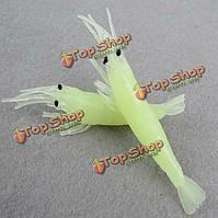 Рыбалка приманки приманки приманки приманки мягкие приманки мягкие креветки световой аксессуар