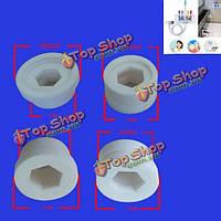 Яс 1 упаковка 4 шт гаек для стоматологических Spa Unit ирригатор для полости рта зубов чище нить водоструйных