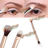 Про макияж глаз тени для век двойного состава кисть