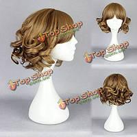 Милая высокотемпературная прическа мультипликации парика волос костюма косплея синтетического продукта сопротивления
