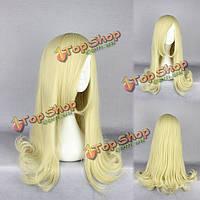 Косплей костюм парик синтетического волокна сопротивление высокой температуре прямо очаровательный волосы