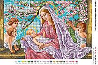 Мадонна с младенцем в саду 30*40