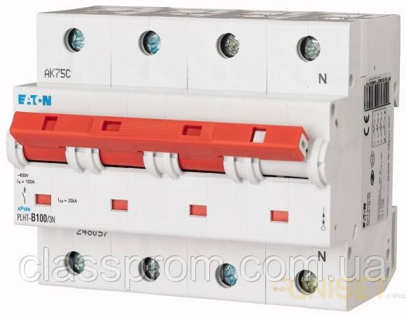 Автоматический выключатель 3+N-полюс. PLHT-C40/3N EATON