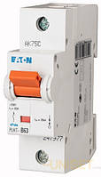Автоматический выключатель 1-полюс. PLHT-C50 EATON, фото 1