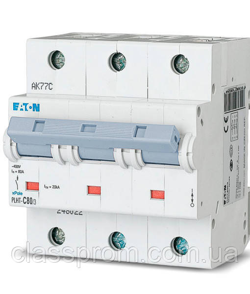 Автоматический выключатель 3-полюс. PLHT-D32/3 EATON