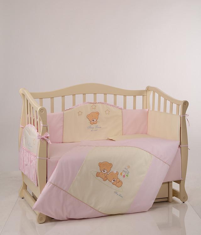 Детское постельное Tiny Love розовый