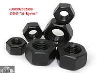 Гайка М3 ГОСТ 5915-70, ГОСТ 5927-70, DIN 934, класс прочности 8.0