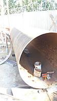 Производство и монтаж промышленных стальных дымовых и вентиляционных торуб высотой до 75 метров. Гарантия от 1