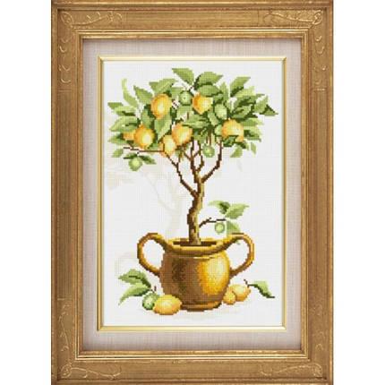 """Набор алмазной живописи """"Лимонное дерево"""", фото 2"""
