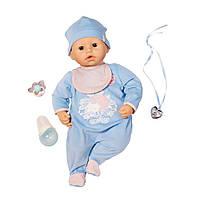 Кукла Беби Аннабель мальчик братик 9 версия интерактивная Baby Annabell Zapf Creation Brother, фото 1