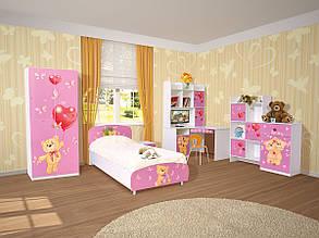 Шкаф книжный Мульти Мишки (Світ Меблів ТМ), фото 2