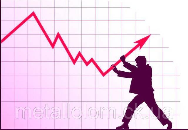 Цена на черную группу металлолома растет а на цветную падает.