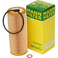 Фильтр масляный вставка Mercedes Vito 2.0-2.3(бензин) 96-03 Mann HU727/1x