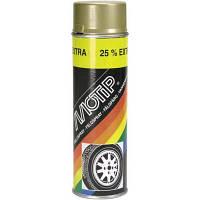 Краска акриловая для дисков MOTIP Wheel Spray ✔цвет: золотистый ✔ 500мл.