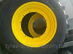Изготовление колесных дисков и систем сдваивания колес для работ в междурядии и сплошной обработки