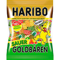 Желейные конфеты Haribo Sauer Goldbaren, 200 гр