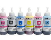 Светостойкие чернила INKSYSTEM для фотопечати на Epson Colorio EP-707A (6 цветов)