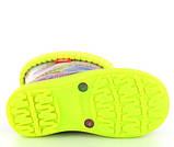 Резиновые сапоги DEMAR -HAWAI LUX EXCLUSIVE ea (Хиппи фиолет), фото 2