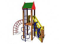Игровая площадка Горка Мостик и Спираль Петушок 1,2, фото 1
