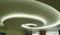 Двохуровневый потолок из гипсокартона